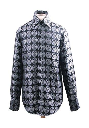 Sunrise Outlet Men's Fancy Stylish Shirt White