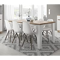 Amazon Fr Table Scandinave Tables Salle A Manger Cuisine
