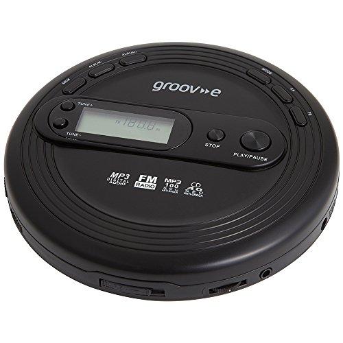 Groov-e GVPS210 CD-Player Retro-Serie, mit Radio, MP3Wiedergabe und Kopfhörer