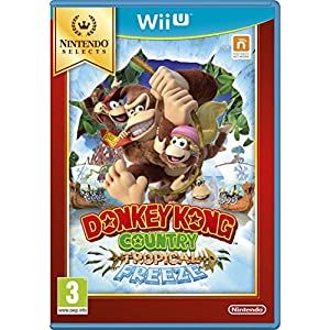 Donkey Kong Country Tropical Freeze Select Jeu Wii