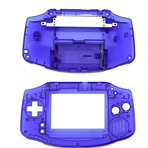 ASHATA Gba Gehäuse, Ersatz Gehäuse Shell Pack Vollständige Teile Ersatz Zubehör Shell Case,Ersatzteile Reparatur Ersatz Abdeckung Kit für Nintendo GBA Gameboy Advance(Blau)