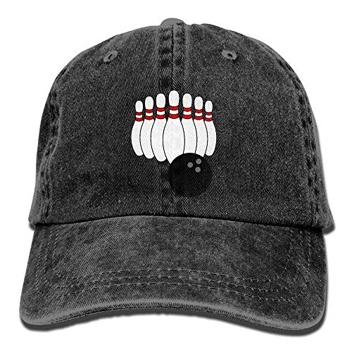 Cowboy Baseball Cap Men&Women Dad Style Hats Bowling Pin Fedora-pin