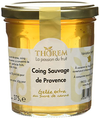 THOREM Gelée Coing Sauvage de Provence 375 g - Lot de 2