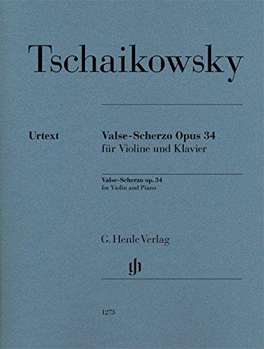 Valse-Scherzo Opus 34 --- Violon et Piano