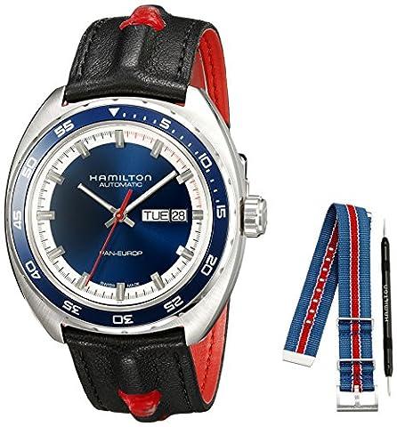 Mens Hamilton Pan Europ Automatic Watch