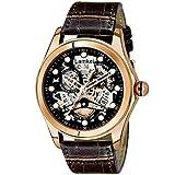 Lamkei LAM-1181 Black Watch for Men - Fashion Luxury Casual Party Wear Automatic