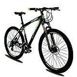 Extrbici XF300 Nouveau vélo de Montagne à 24 Vitesses 27,5 'pneumatique Fourche à Suspension en Alliage d'aluminium de 19 Pouces VTT Queue Dure de vélo Frein Double Disque