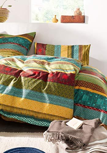 hessnatur Renforcé-Bettwäsche Malawi aus Reiner Bio-Baumwolle Gemustert 135x200+40x80 cm