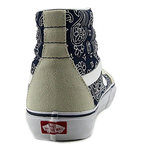 Vans - Ua Sk8-hi Reissue, Sneaker alte Unisex – Adulto Beige Blau
