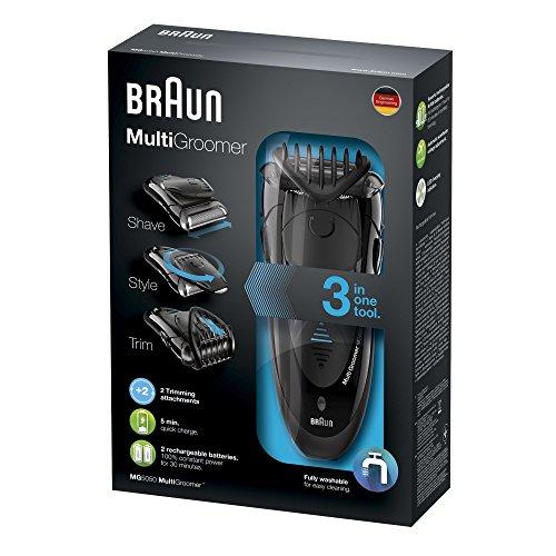 Braun MG 5050 - Afeitadora eléctrica multifunción
