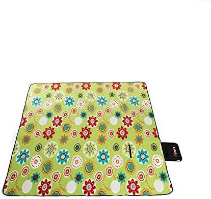 GUJJ Campeggio Outdoor Oxford tessuto picnic picnic picnic a spessore impermeabile portable piega pad umidità tende stuoie panno picnic ,g1-150200cm   Negozio    Colori vivaci  22906c