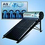 Calentador de agua solar para ACS (termosifón), HEAT PIPE, depósito de 200 L, tubos de 58mm x 1800mm