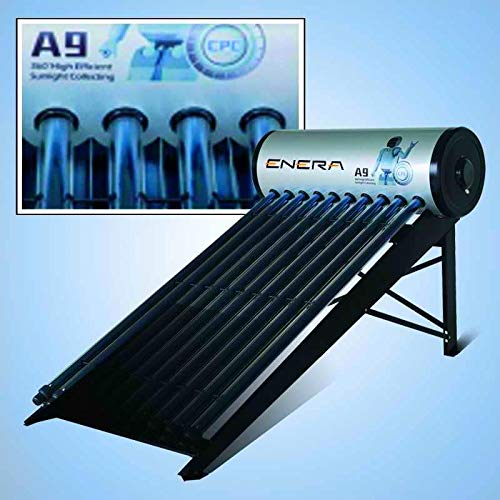 "ENERA PRO200 incluye: Tanque acumulador horizontal: parte interior de acero inoxidable SUS316, aislamiento térmico - 55mm de espuma de poliuretano de alta densidad; válvula antiretorno ""AKE""; válvula de seguridad ""AKE"" (90ºC, 6 bar); pasta térmica co..."