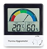 Healthy living thermometer & hygrometer with comfort zone - Best Reviews Guide