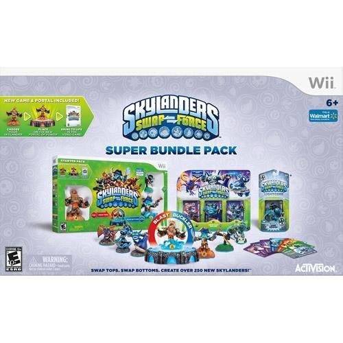 Skylanders SWAP Force Super Bundle Pack für Nintendo Wii