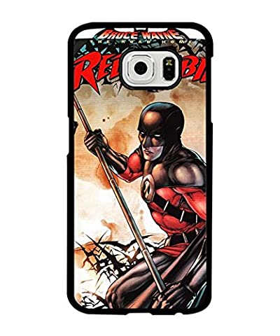 Red Robin Costume Dc - Phone Coque Case For Galaxy S6, Red