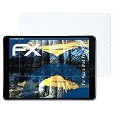 atFolix Panzerfolie für Apple iPad Pro 10.5 Folie - 2 x FX-Shock-Clear stoßabsorbierende ultraklare Displayschutzfolie