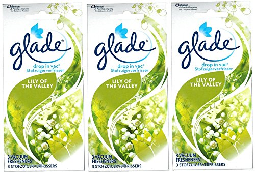 9-x-glade-drop-in-vac-lily-of-the-valley-aroma-vacuum-vac-fresheners-3-packs-of-3-by-glade