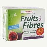 Ortis Fruits & Fibres Cubes à Mâcher Lot de 2 x 24 Cubes