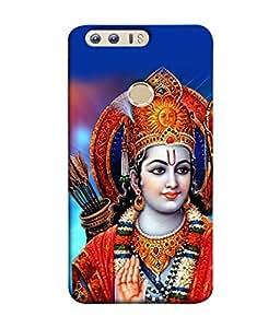 Fuson Designer Back Case Cover for Huawei Honor 8 (God King Men Women Follower Hindu India)
