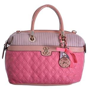 Guess - Bolso de asas para mujer rosa Watermelon Multi (Pink / Rosa) de GUESS