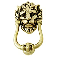 Solid Brass Lion