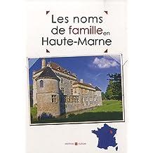 Haute-Marne noms de famille