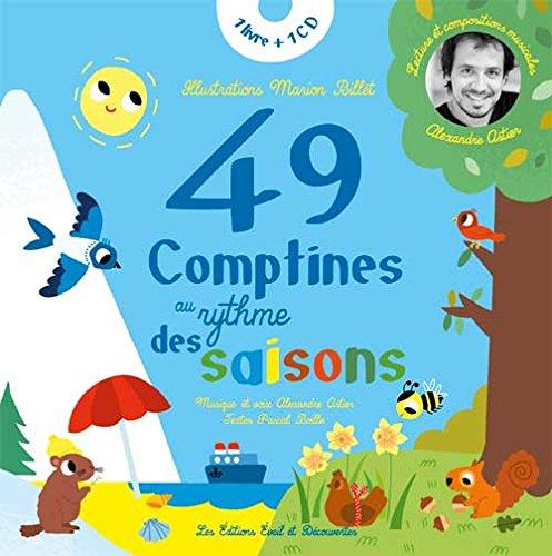49 comptines au rythme des saisons (1CD audio) par Pascal Boille