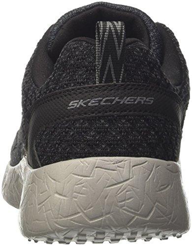 Skechers Herren Burst-Athis Sneaker Schwarz (Bkcc)