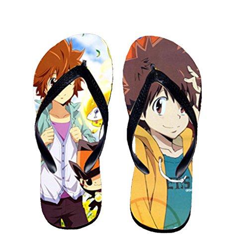 Bromeo Hitman Reborn Anime Unisexe Flip Flops Tongs 621