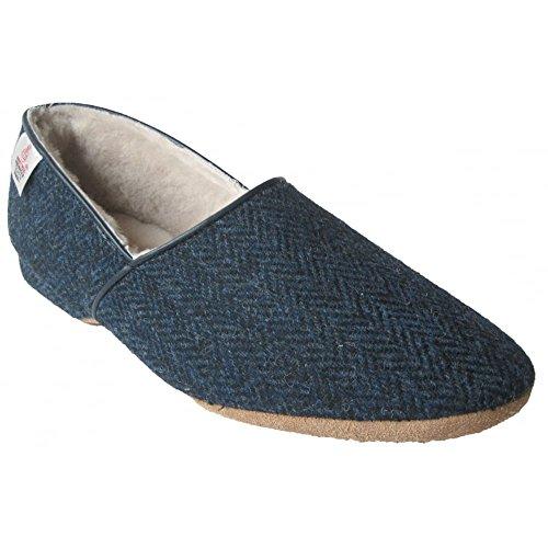 Drapers, Pantofole uomo blu Navy Navy