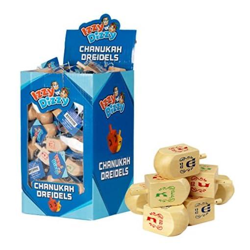 Chanukka-Kreisel-Kreisel-fr-Chanukkah-aus-Natural-Holz-Preis-fr-1-Hanukkah-Dreydle-sewiwon Chanukka Kreisel – Kreisel für Chanukkah aus Natural Holz Preis für 1 (Hanukkah Dreydle, sewiwon) -