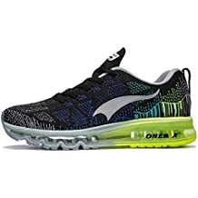 Onemix Air Zapatos para Correr en Montaña y Asfalto Aire Libre y Deportes Zapatillas de Running
