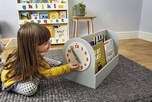 Tragbares Bücherregal von Tidy Books | Bücherregal Kinder