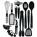 KitchenAid 17-piece Tools and Gadget Set, Black by KitchenAid
