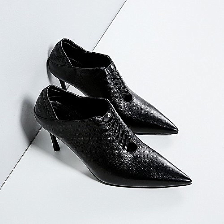 CXY Pantofole Singole Alla Moda Occidentali Indossano Scarpe a Punta Tacco Alto,UN,36 | The King Of Quantità  | Scolaro/Ragazze Scarpa