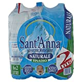 Sant'Anna Acqua Naturale - Confezione da 6 x 2 l