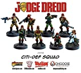 Best Judge Dredd - Citi-Def Squad by Judge Dredd Miniatures Game Review