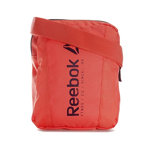reebok Found City Bag Bolsa Bandolera, Niños, Naranja (Fircor), Talla Única