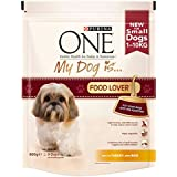 Purina One My Dog is Food Lover Dry Dog Food Turkey and Rice, 800 g - Pack of 4