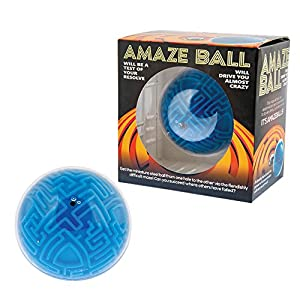 Funtime Gifts PU4850 Amaze Ball - Puzzle, Color Azul