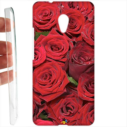Custodia cover RIGIDA per Meizu M5s - 234 rose