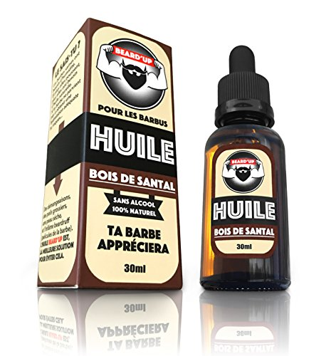 HUILE À BARBE / BEARD OIL  BEARD'UP   Produit 100% Naturel  Nourrit, Hydrate,...