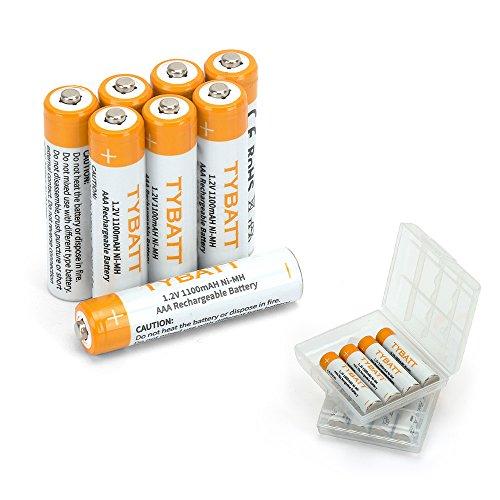 TYBATT Aufladbare AAA Akku Batterien 1100mAh NiMh, gebraucht kaufen  Wird an jeden Ort in Deutschland