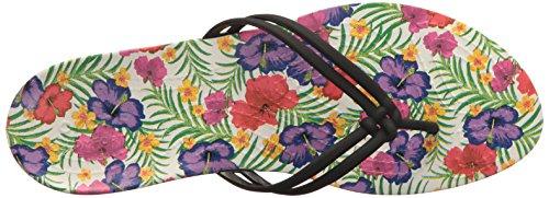 Crocs - Isabella Graphic Flip Femmes - Black/Floral