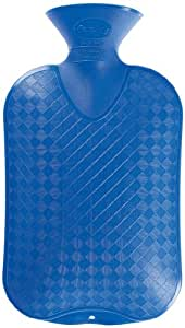 Fashy Plain Hot Water Bottle 2.0L, Assorted colours