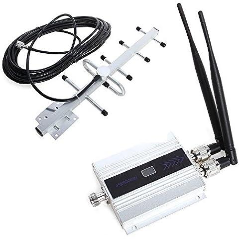 emebay–Repetidor Amplificador Booster 900mhz 2G 3G kit Mobile Phone amplificador de señal GSM repetidor antena