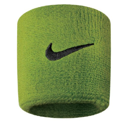 Nike Swoosh Wristbands atomic green/black - Store Nike