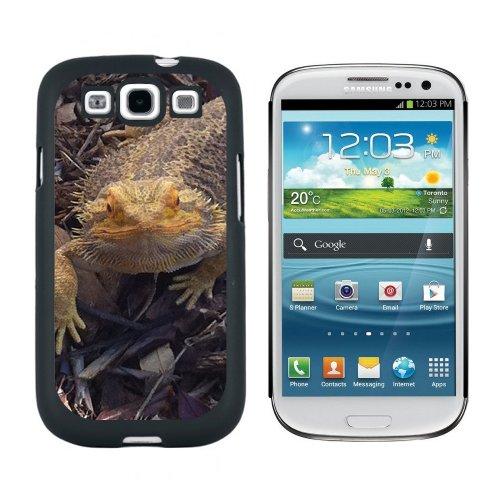 Motiv Bartagame) Snap-On/Hartschalen-Schutzhülle für Samsung Galaxy S3, Schwarz (Galaxy 3 Phone S Sprint)