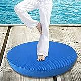 kati-way Tappetino da Yoga, Yoga Balance Pad, Equilibrio Disc Fisioterapia, Pilates, Yoga,/Endurance/Core Stability/Allenamento della Forza, Movimento Rehabilitation-Soft, Confortevole, Antiscivolo